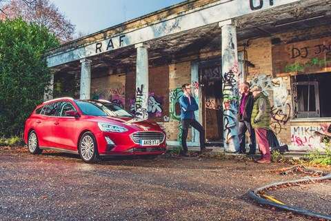 Ford Focus vs our reader test team