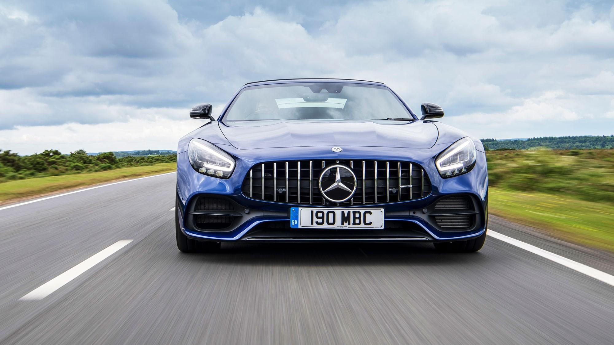 Mercedes Amg Gt S Roadster Review V8 Thrills Car Magazine
