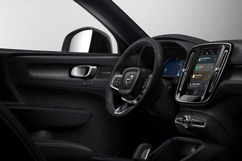 Volvo launches new Google Android Automotive OS in new XC40 electric