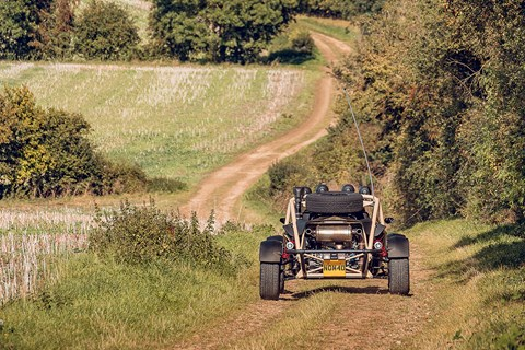 Ariel nomad farm tracks