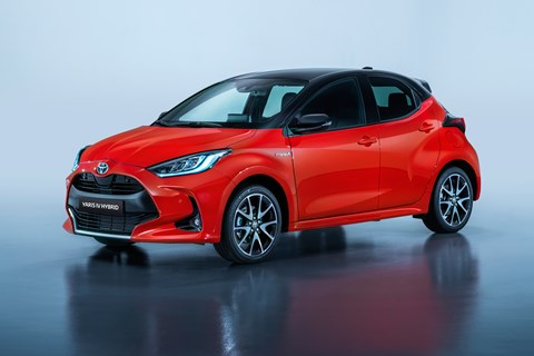 New 2020 Toyota Yaris supermini