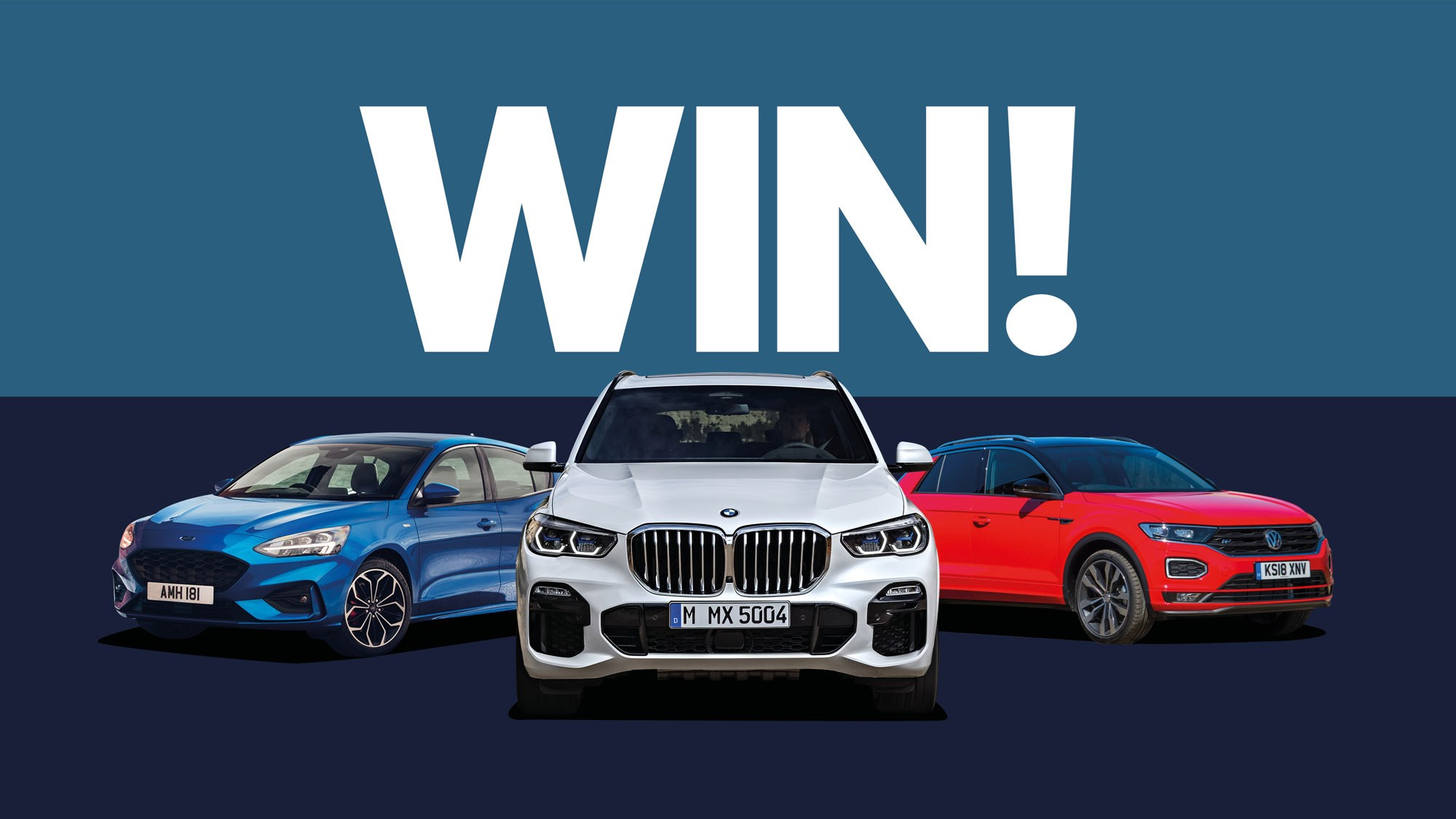Auto Trophy competition 2019: win a BMW, Ford or VW