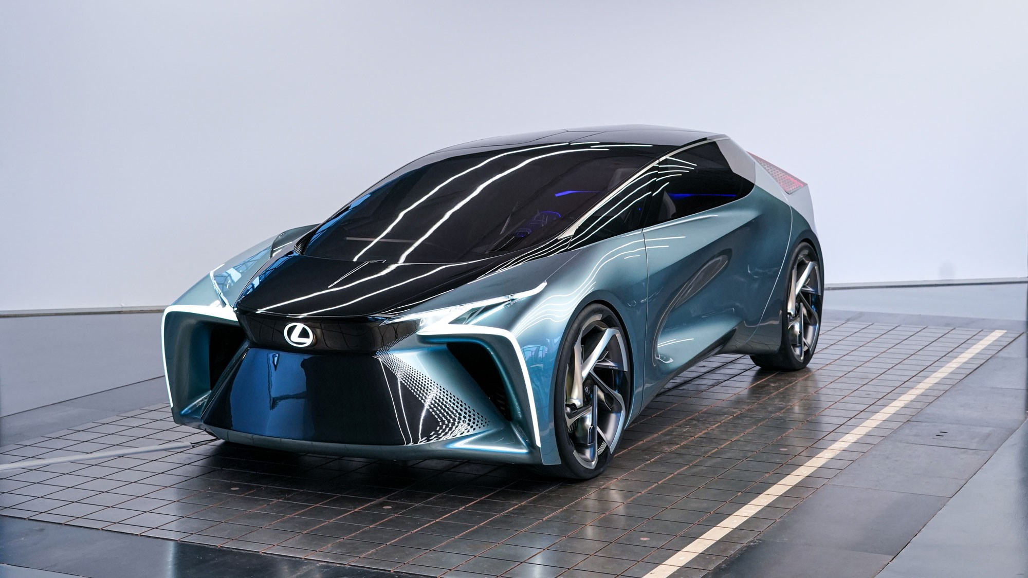 Watt took you so long? Lexus unveils electric LF-30 concept