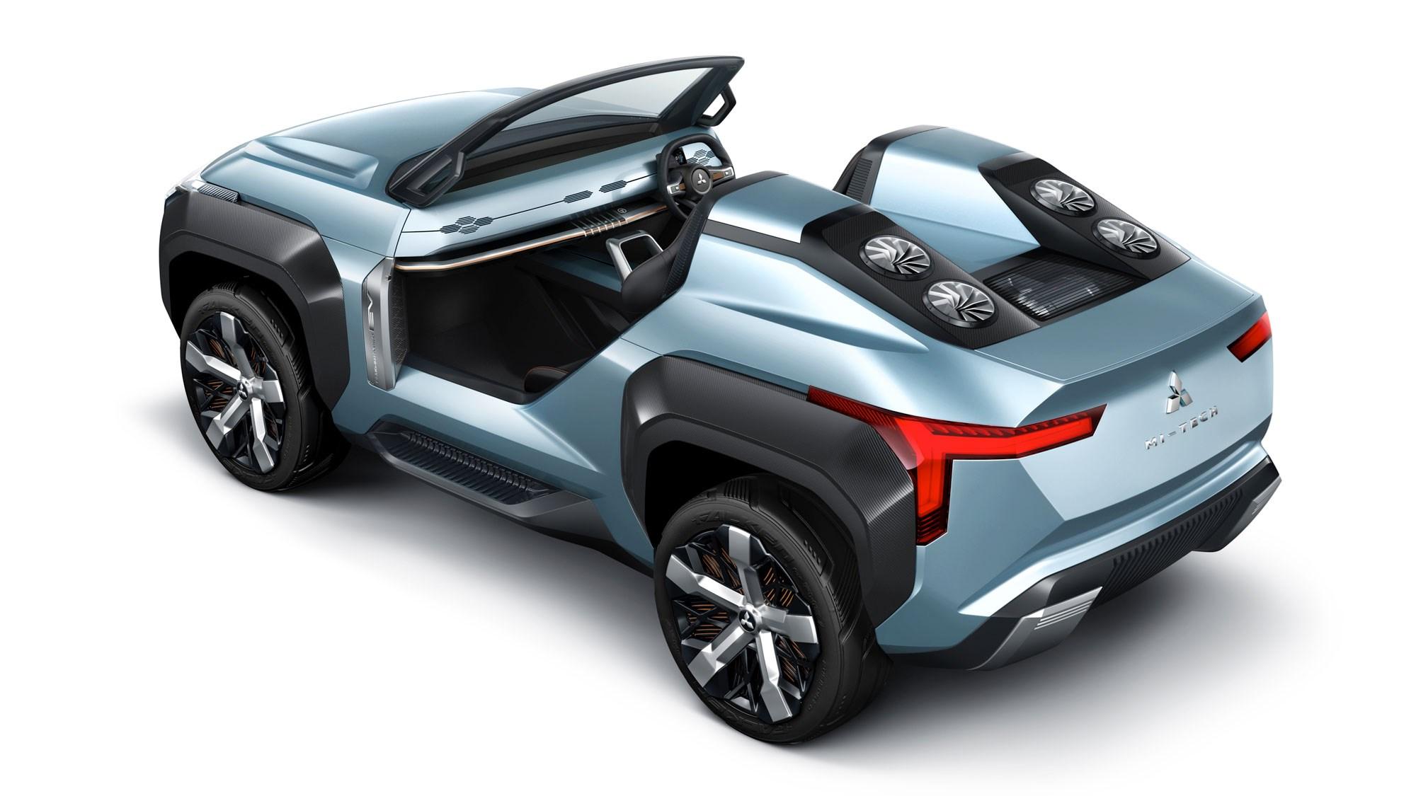 Mitsubishi Mi-Tech, K-Wagon: Specs, Features, Photos, 2019 Tokyo Motor Show