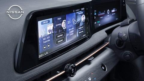 Nissan Ariya (2021) interior view