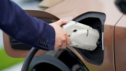 Nissan Ariya (2021) CCS charging system