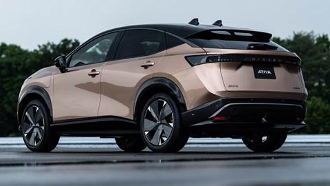 Nissan Ariya (2021) rear view