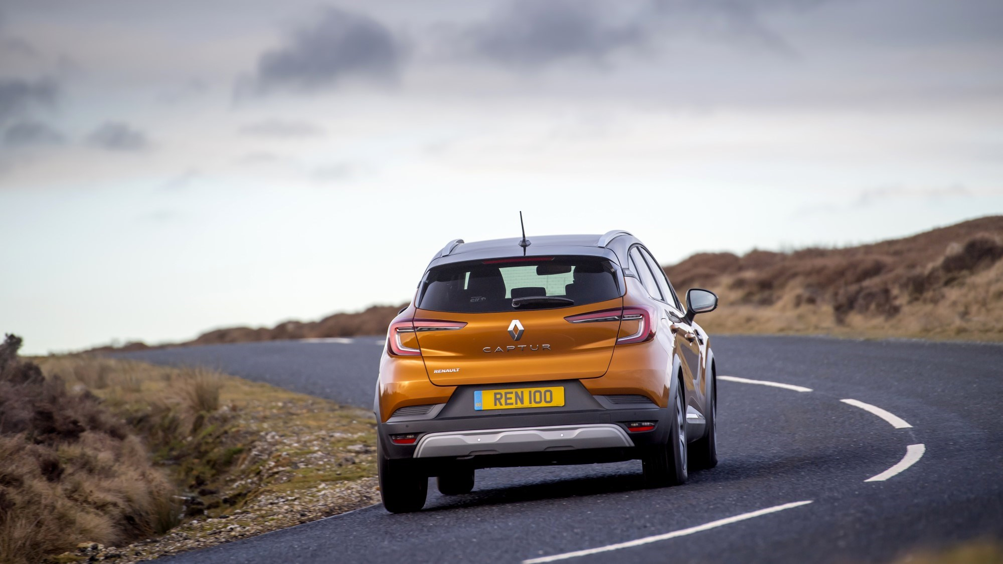2020 Renault Captur rear dynamic