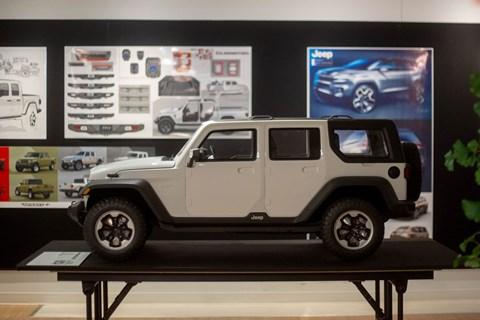Inside Jeep model