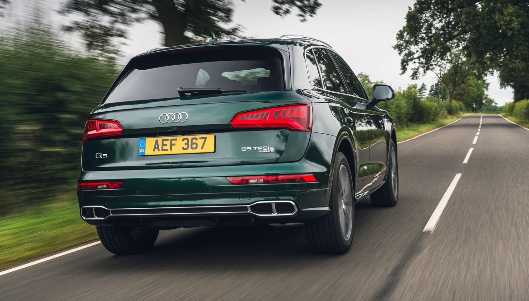 Q5 hybrid rear tracking