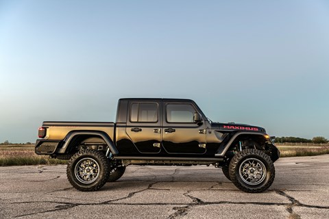 Jeep Gladiator Maximus by Hennessey costs $225,000 in the US