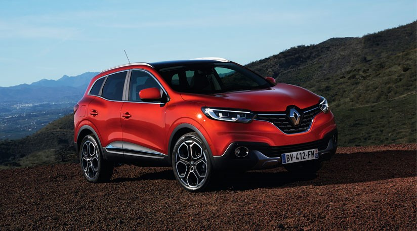 renault kadjar 2015 first official pictures by car magazine. Black Bedroom Furniture Sets. Home Design Ideas