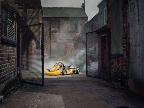 James Taylor's racing kart