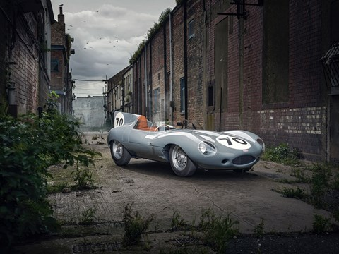 Jaguar D-Type: one of the 25 continuation cars - and a special one