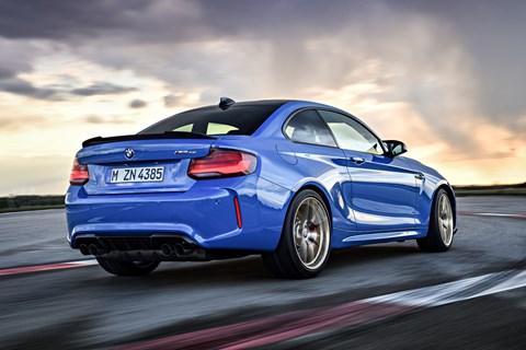 BMW M2 CS rear tracking