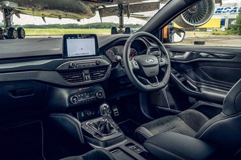 Focus ST interior