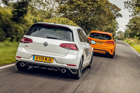 Golf GTI rear tracking
