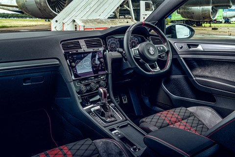 Golf GTI TCR interior