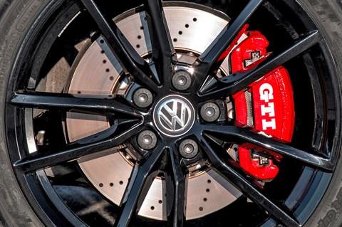 Golf GTI TCR brakes