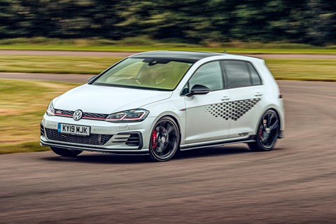 GTI TCR front cornering