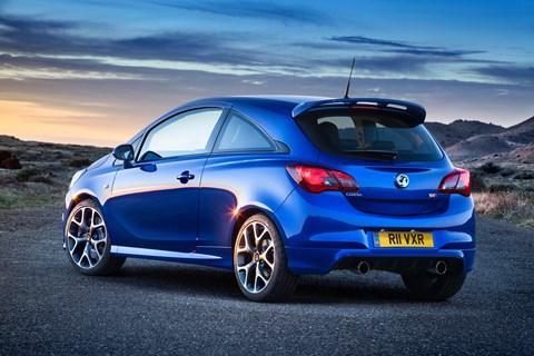 The new 2015 Vauxhall Corsa VXR