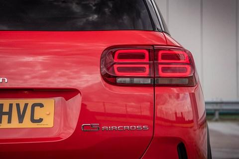 C5 aircross rear