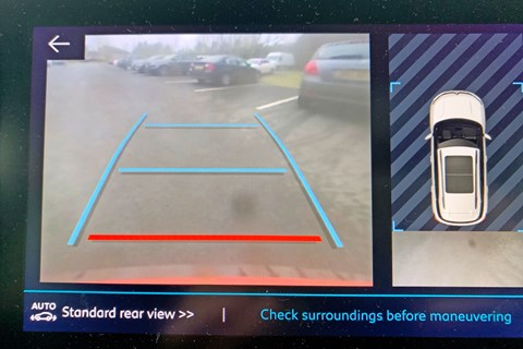 C5 aircross parking camera