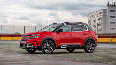 Citroen C5 Aircross parking