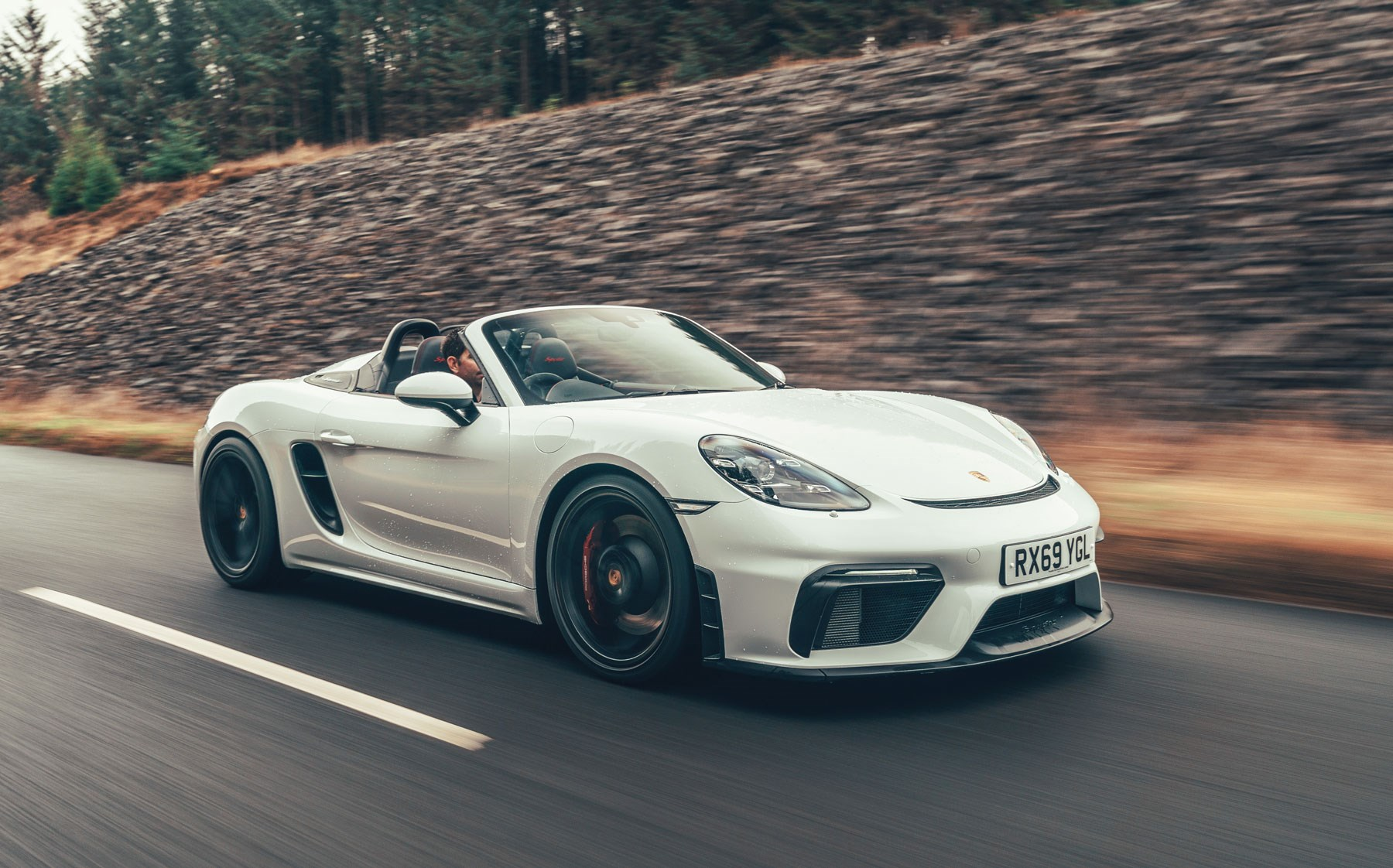 Porsche 718 Spyder Review Car Magazine