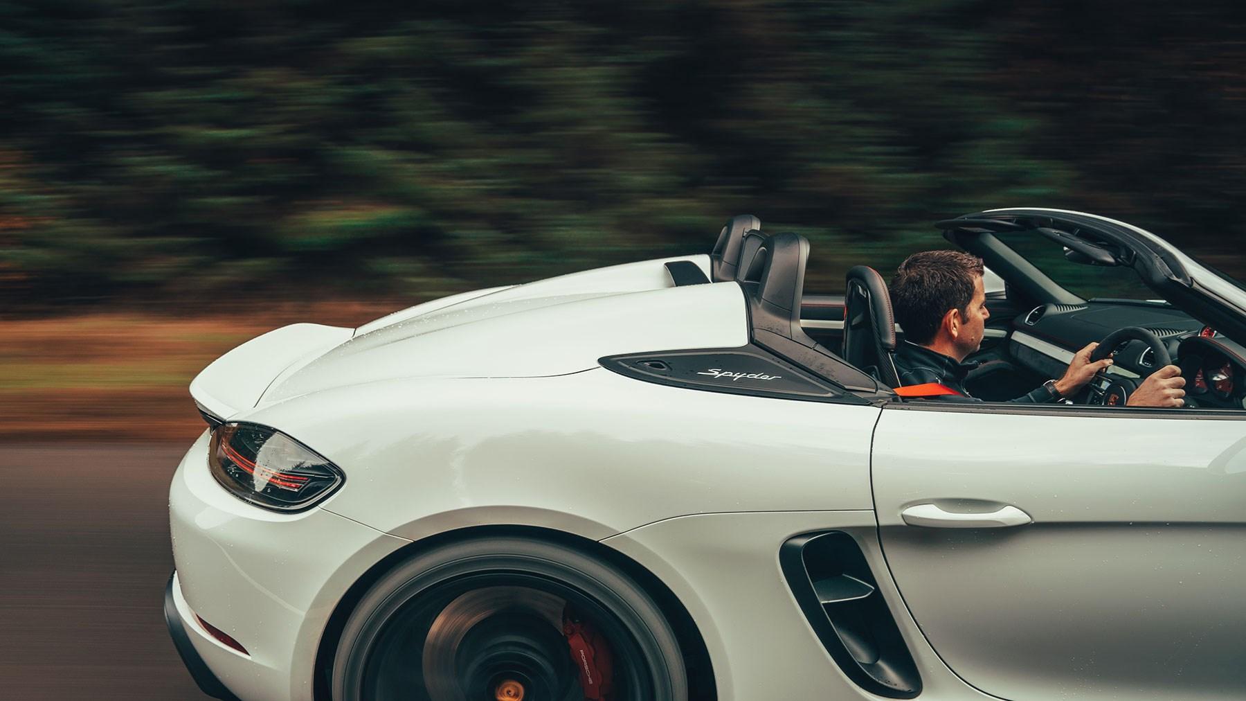 New 2019 Porsche 718 Boxster Spyder