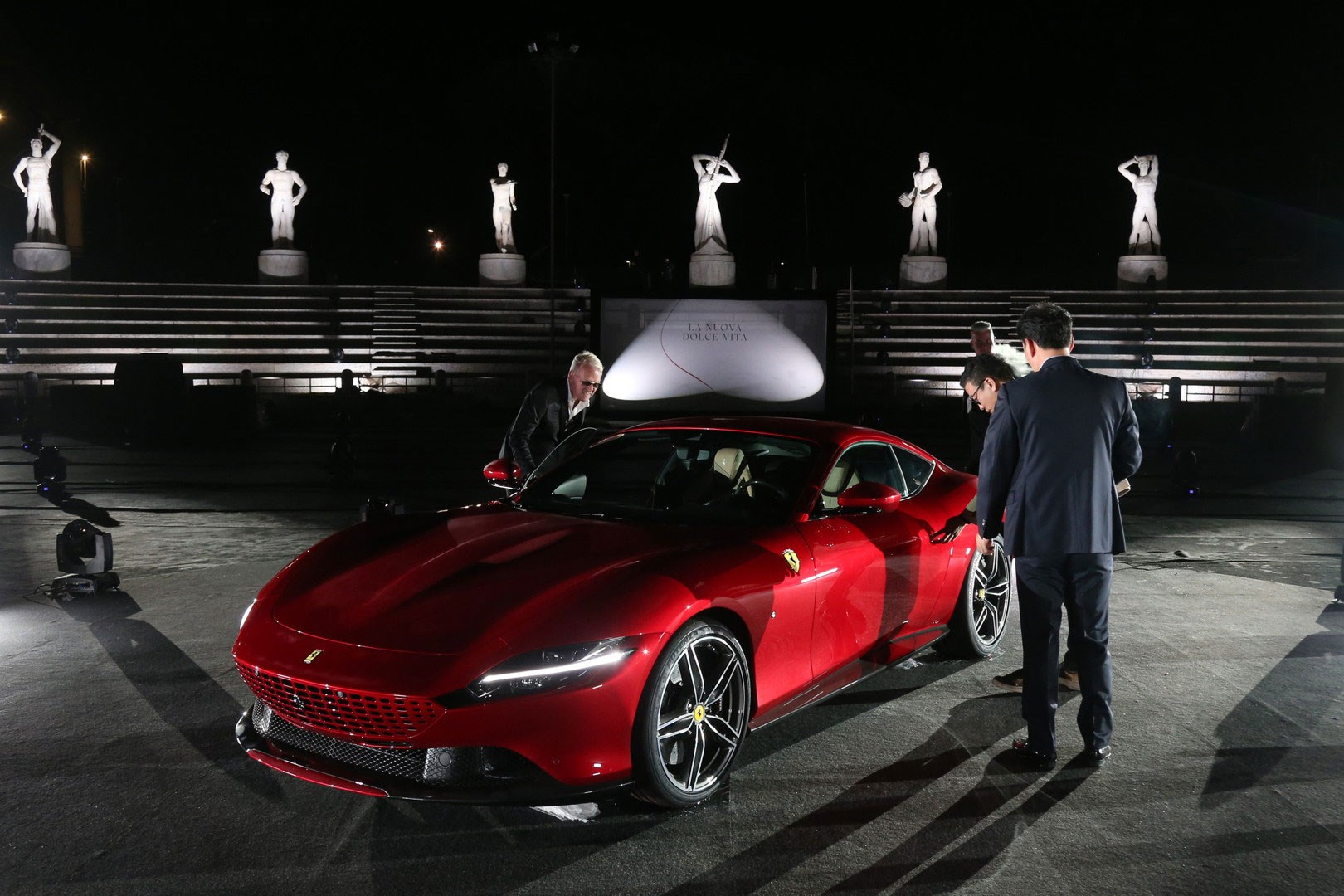 Ferrari Roma The Lowdown On Maranello S Vantage Car Magazine