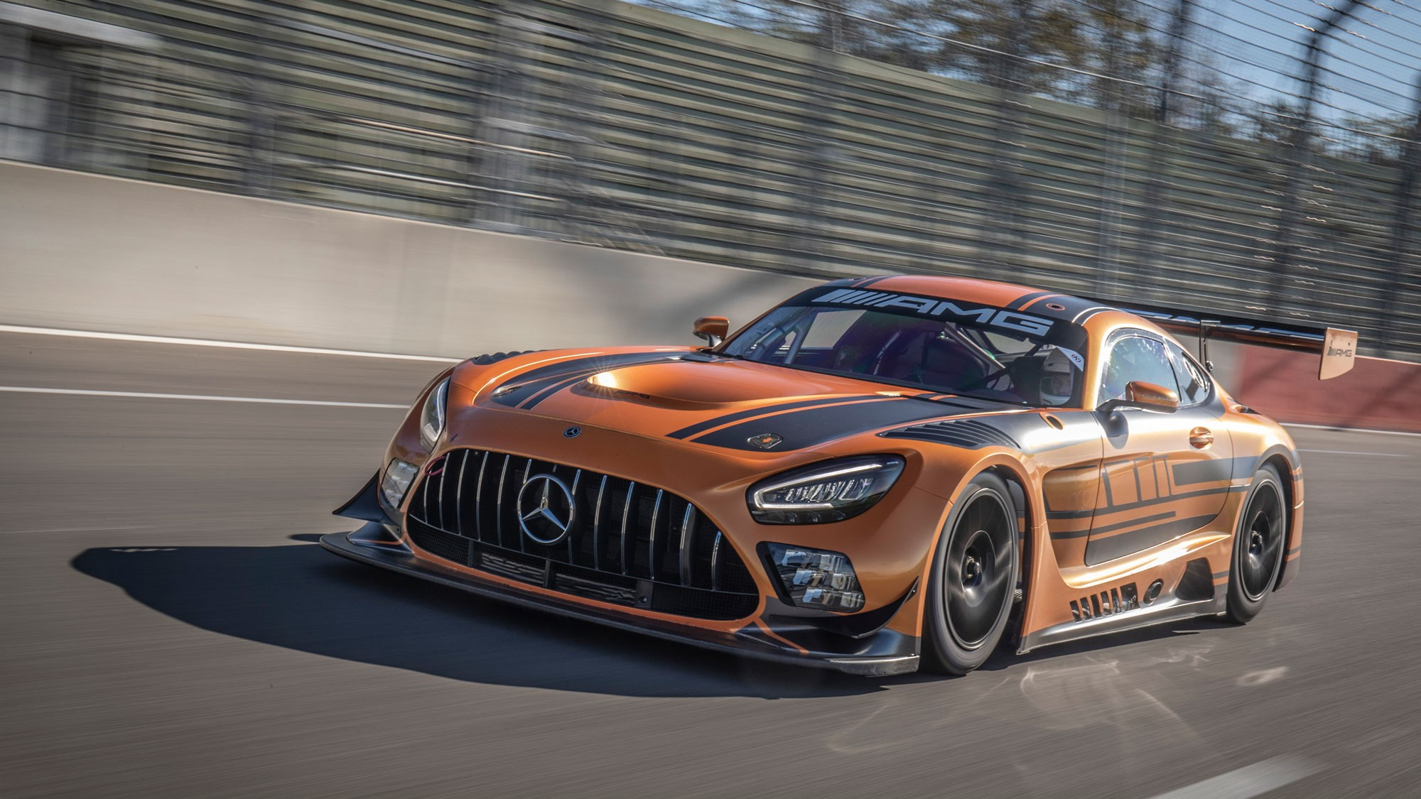 Mercedes-AMG GT3 review: friendly monster