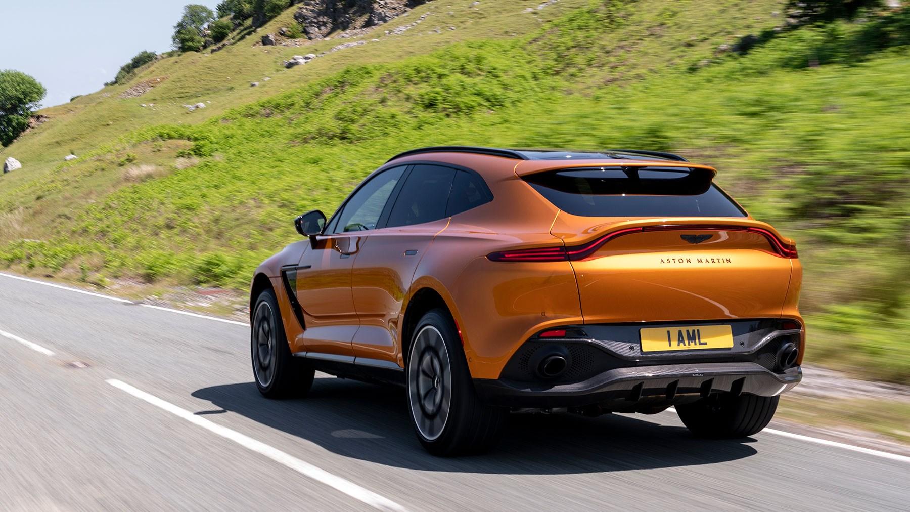 Aston Martin DBX review: rear