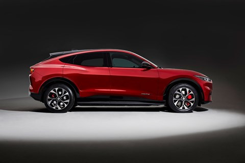 Ford Mustang Mach-E: side profile