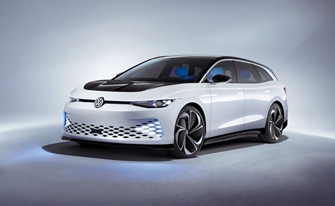 VW ID Space Vizzion electric estate car
