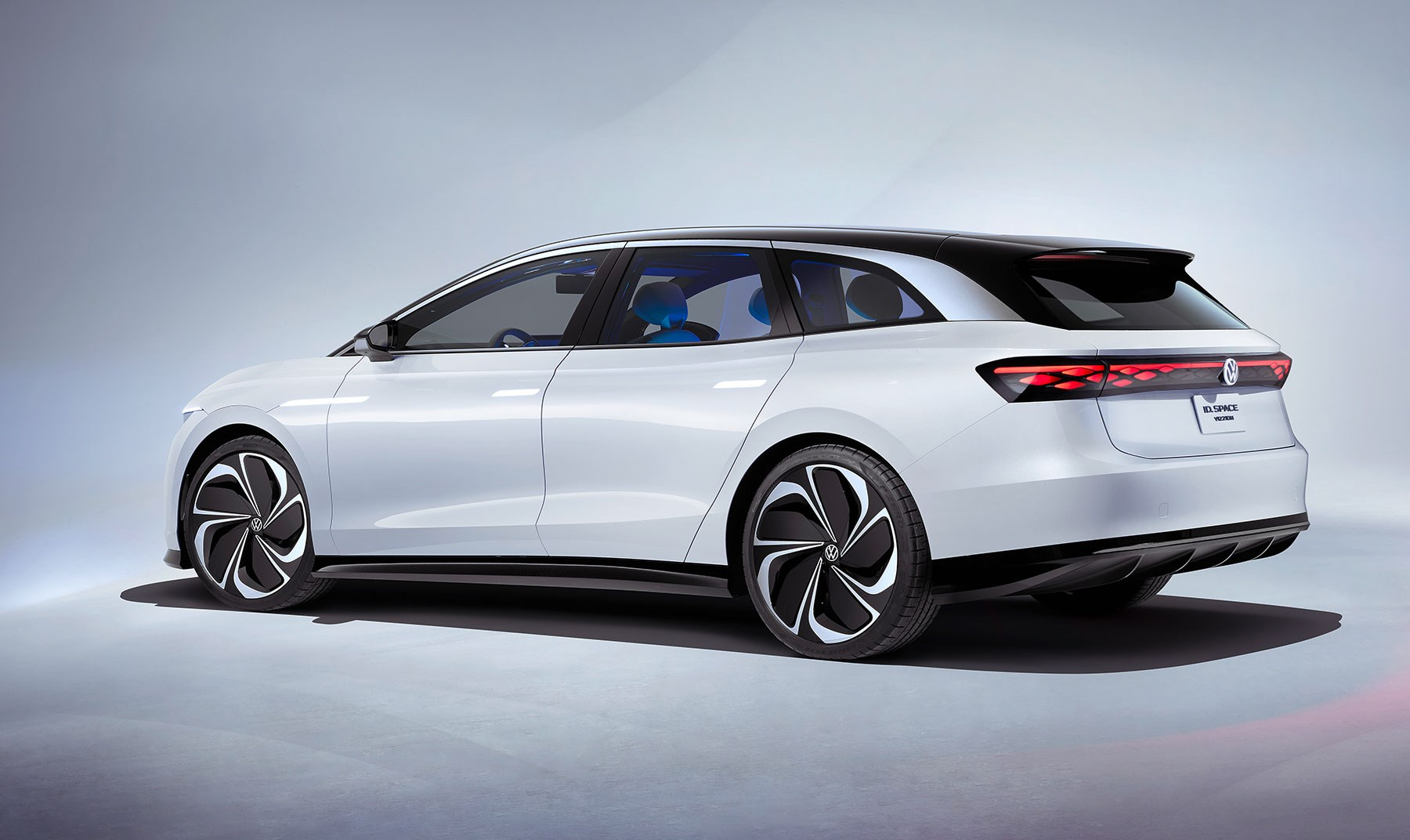 Volkswagen's seventh ID. concept, ID. Space Vizzion revealed