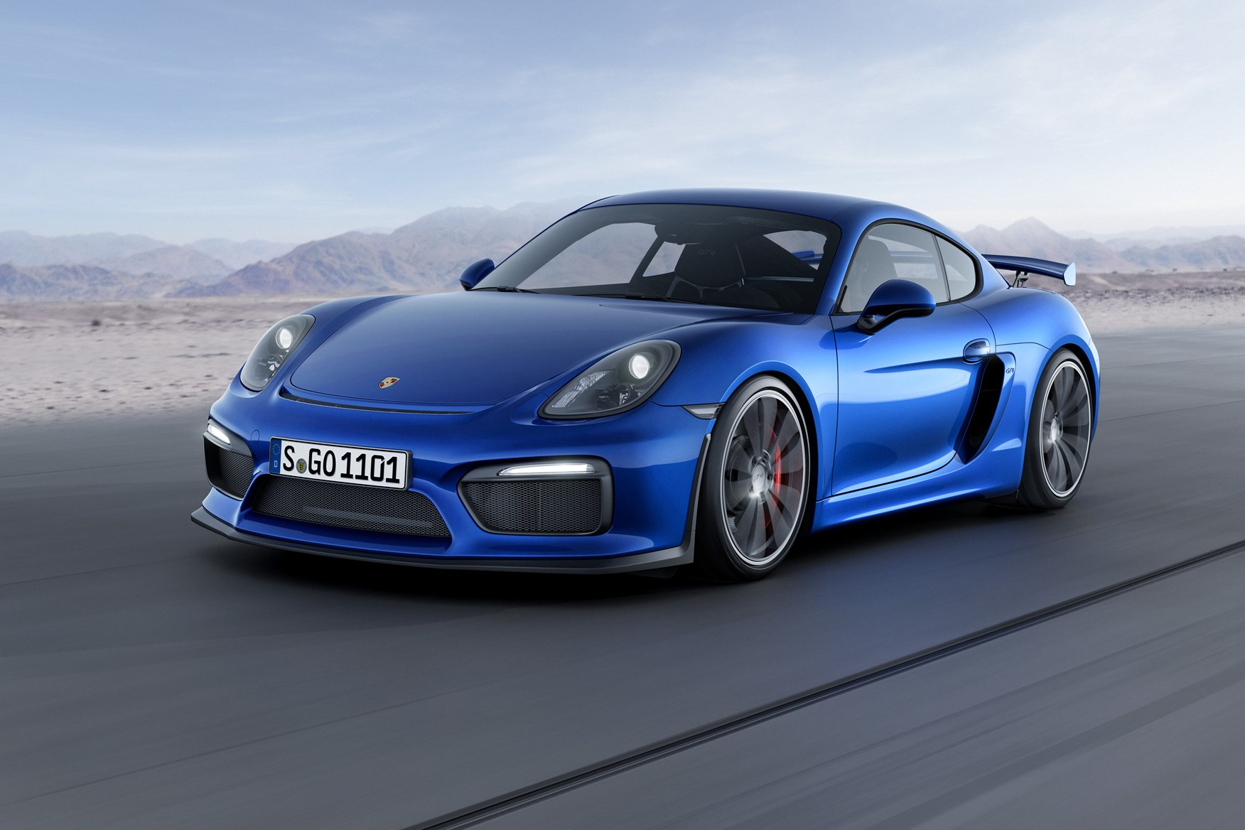 Porsche Cayman GT4 - the 911 GT3 gets a little brother at last | CAR