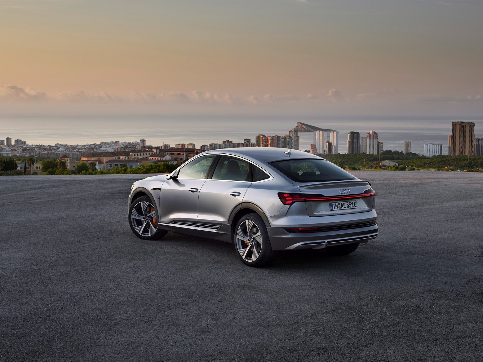 Image result for 2021 audi e tron sportback trunk space