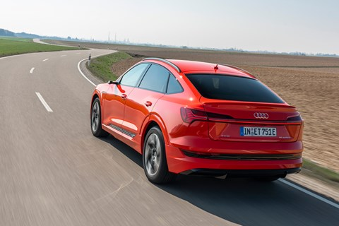 e-tron sportback red