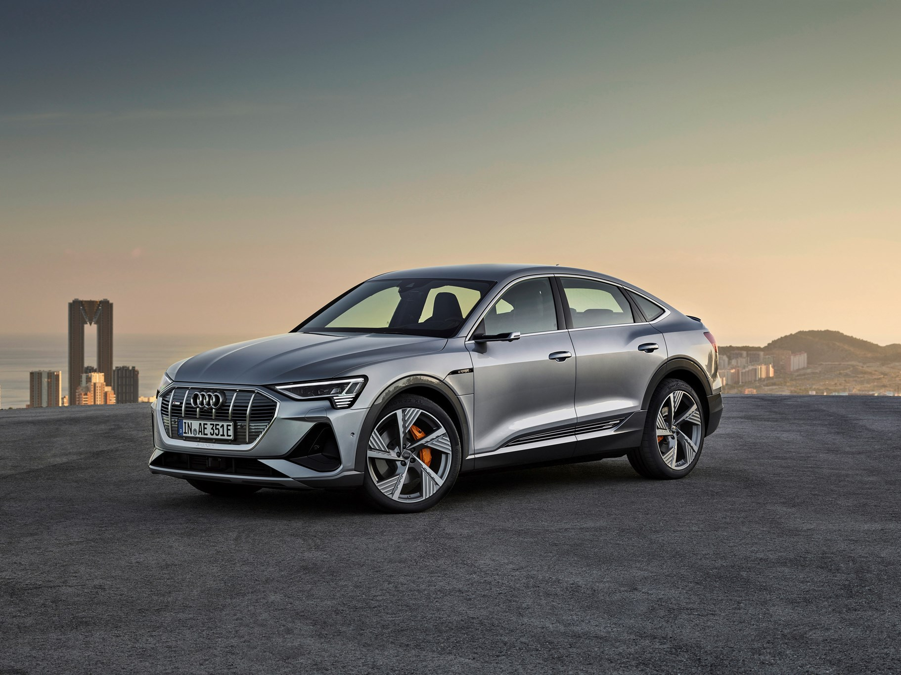 Audi unveils E-tron Sportback - and we ride in it