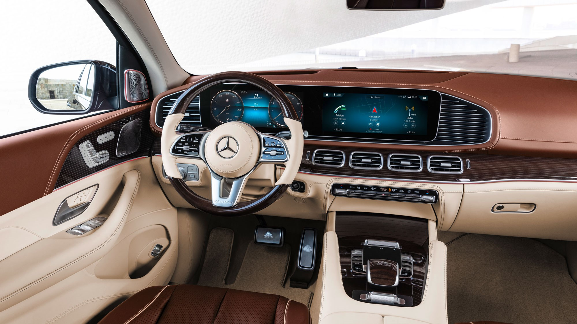 Mercedes Maybach Gls An Suv With All The Toppings Car Magazine