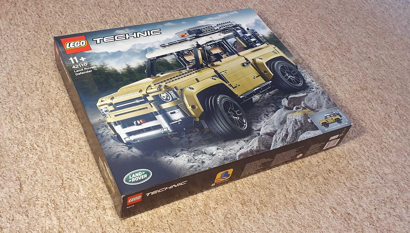 Lego Defender box