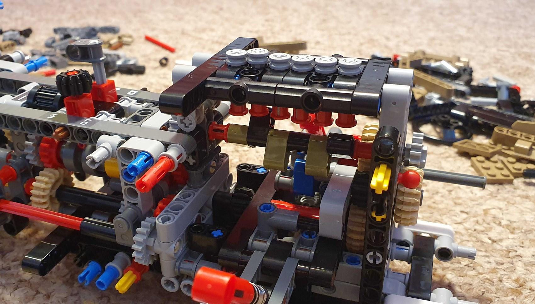 Lego Defender building