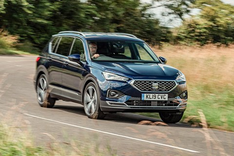 Seat Tarraco front cornering