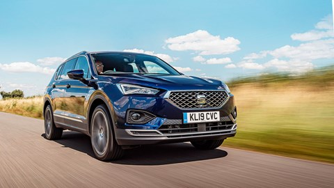 Seat Tarraco front tracking