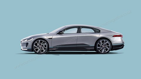 The new Jaguar XJ will be all electric too