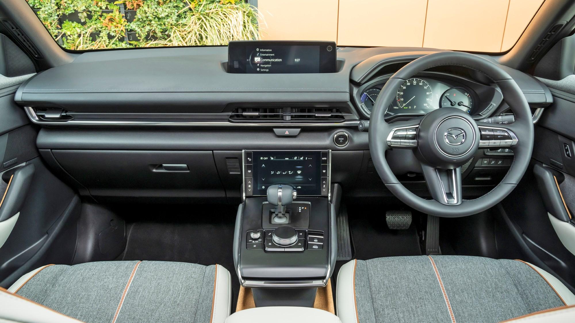 2021 Mazda MX-30 dashboard