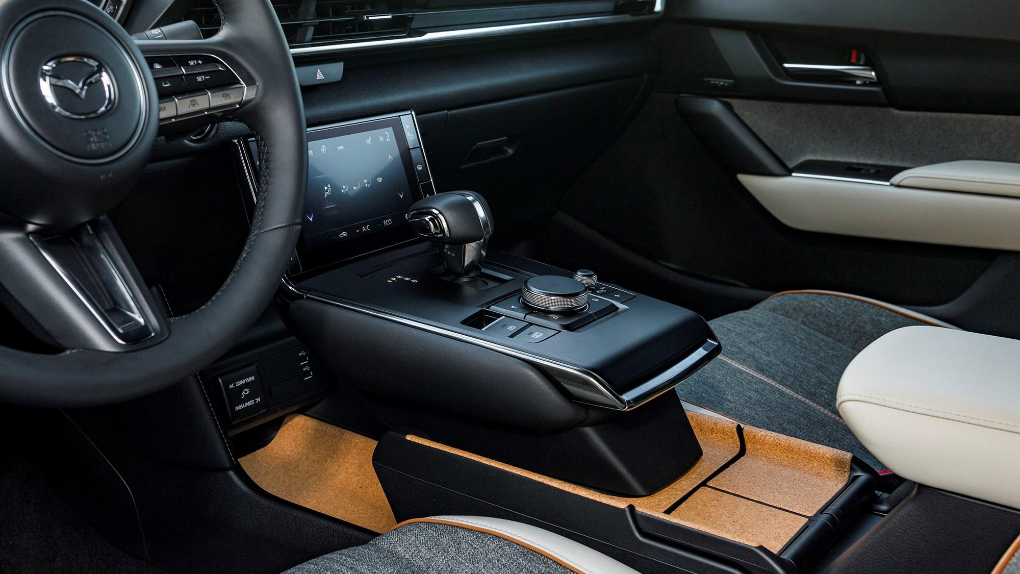 MX-30's unusual cork interior trim