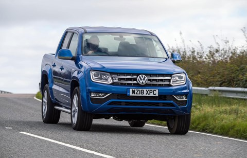 VW Amarok 3.0 V6 TDI: well suited to a big diesel