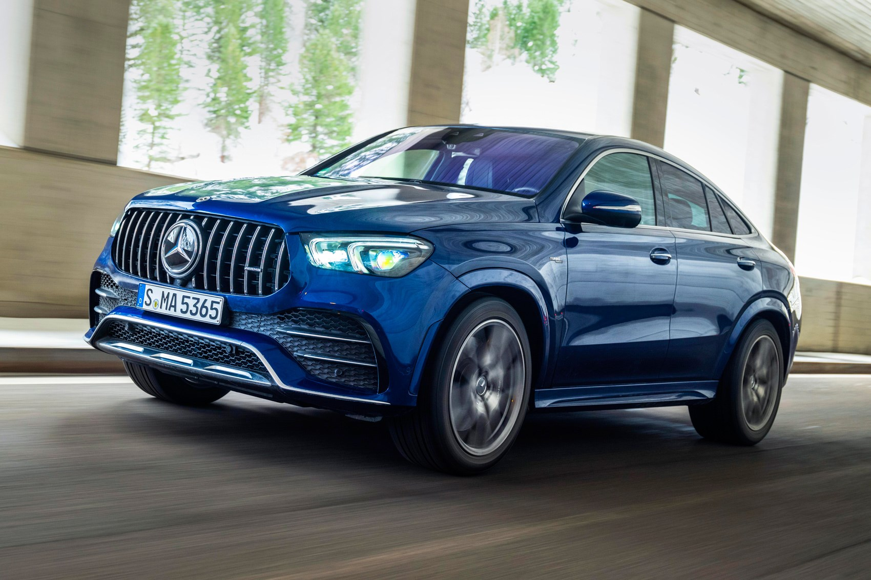 Mercedes Amg Gle 53 Coupe 2020 Review Car Magazine